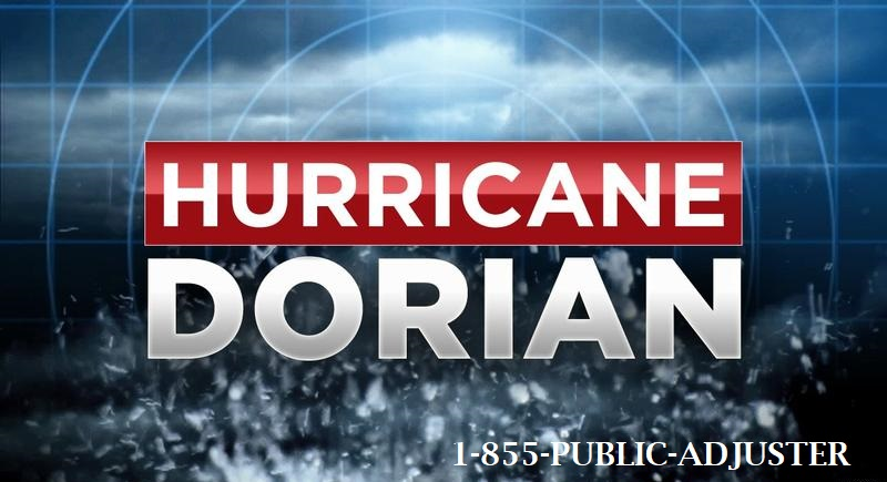 Hurricane Dorian Insurance Claims SNEADS FERRY